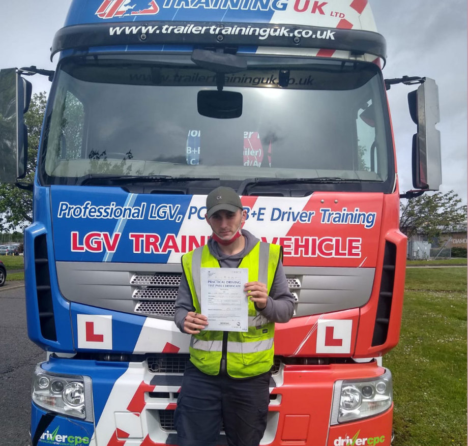 LGV C+E Training