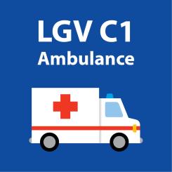 LGV C1 ambulance