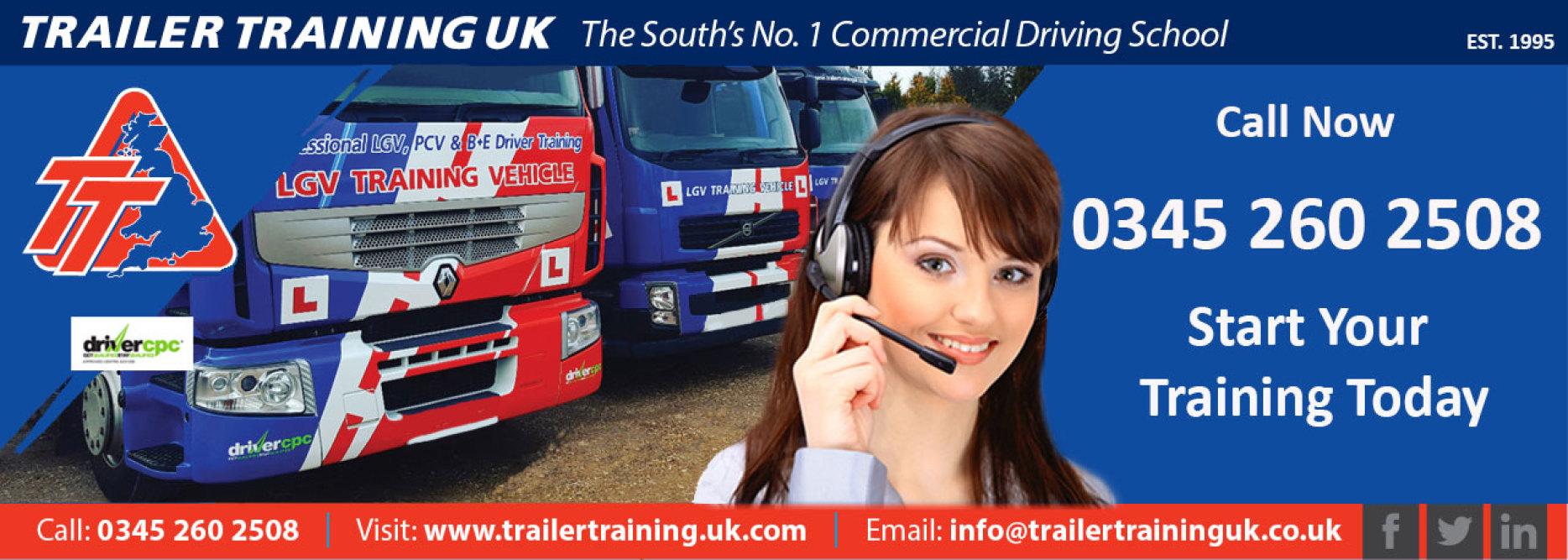 Trailer Training UK Ltd for All your HGV Training
