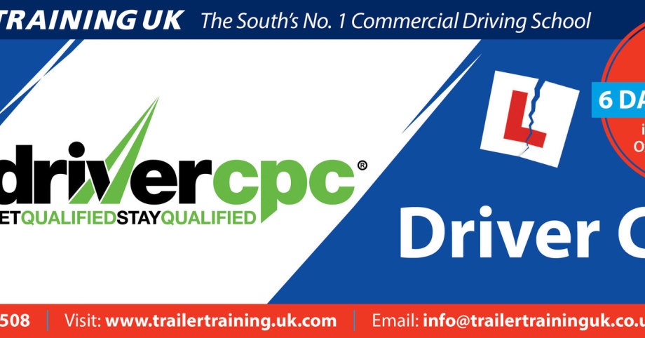 Trailer Training uk Ltd for driver CPC driver training