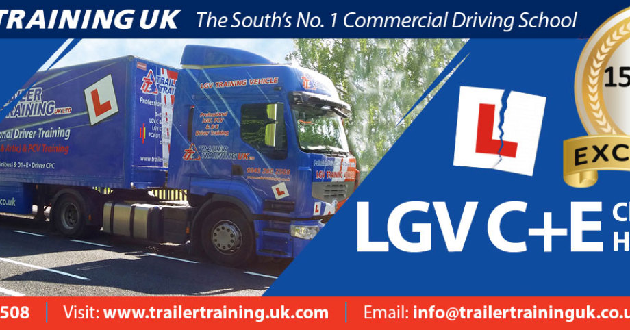 Trailer Training uk Ltd for HGV 1 (Cat C+E) driver training