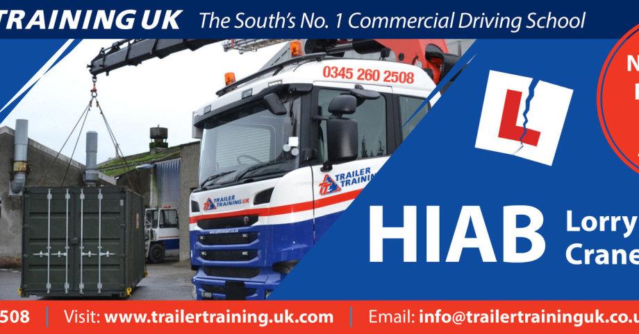 Trailer Training uk Ltd for driver HIAB driver training